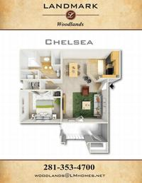 landmark woodlands floor plan chelsea