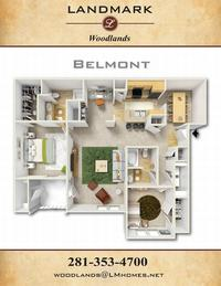 landmark woodlands floor plan belmont