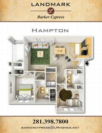 landmark barker cypress hampton floor plan