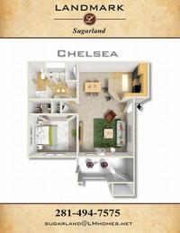 landmark sugarland apts chelsea floor plan